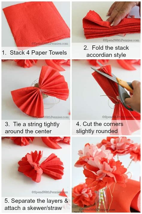 how to make out of paper how to host a summer barbecue make paper towel