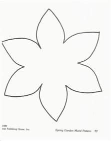 flower paper craft template the 25 best ideas about daffodil craft on