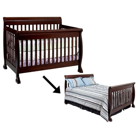 crib to bed furniture oeuf eco friendly convertible crib