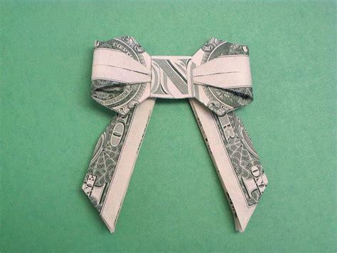origami dollar bow tie 25 unique money origami ideas on dollar