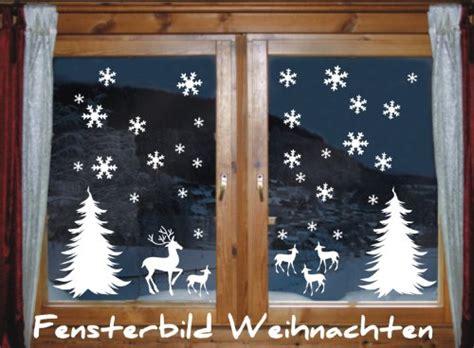 Fensterbilder Weihnachten Selbstklebend Günstig by Wandtattoo Hirsch Platzhirsch