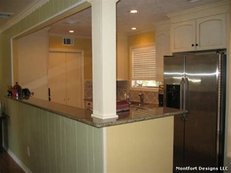 designing a galley kitchen can be opening to basement stairs home renovation dreams