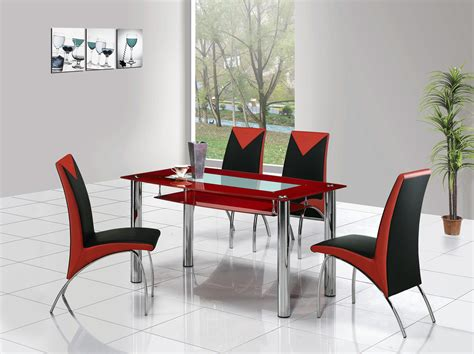 set of dining table and chairs rimini large glass dining table dining table and chairs