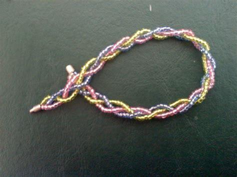 braided bead bracelet braided beaded bracelet 183 how to braid a braided bead