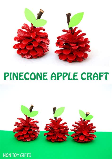 craft gifts for pinecone apple craft non gifts
