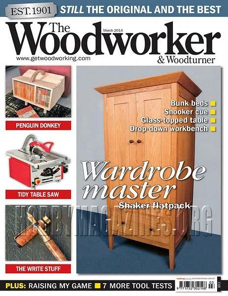 the woodworker woodturner magazine the woodworker woodturner march 2014 187 hobby magazines