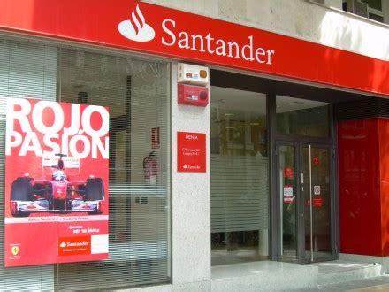 oficinas de banco santander banco santander promociones y cat 225 logo de productos