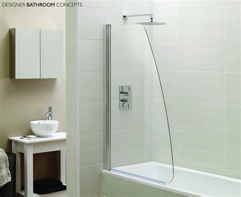 glass shower bath screen designer sail glass bath shower screens ap9578s