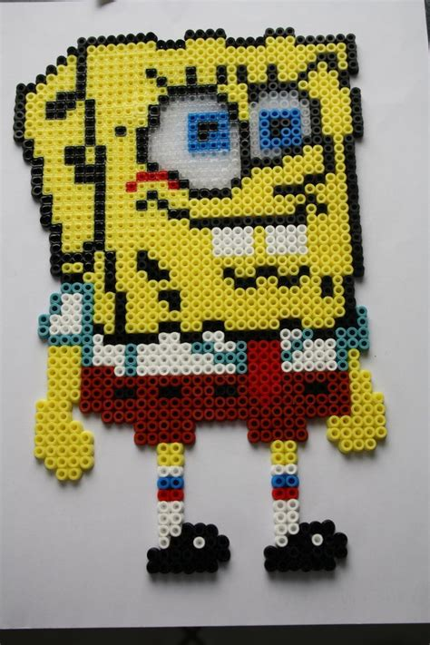 spongebob perler 1000 images about spongebob perler on