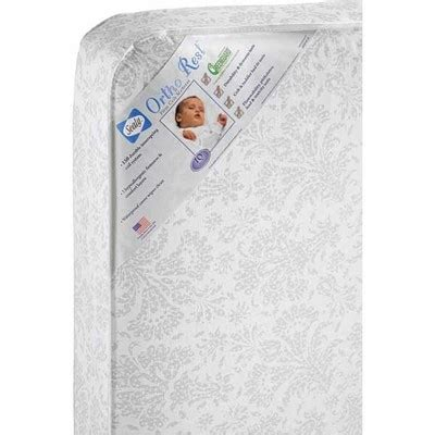 ortho rest crib and toddler mattress 187 sealy ortho rest crib toddler bed mattress comfortable