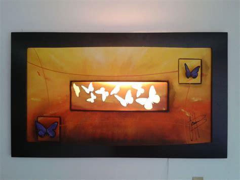 cuadros con luz cuadro curvo con luz y corte laser envio gratis 2 200