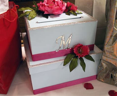 how to make wedding card boxes for reception this was a diy wedding crafts project and probably