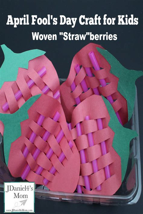 April Fools Day For Woven Strawberries