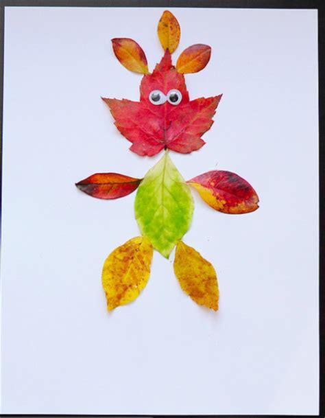 leaf craft for leaf family crafts