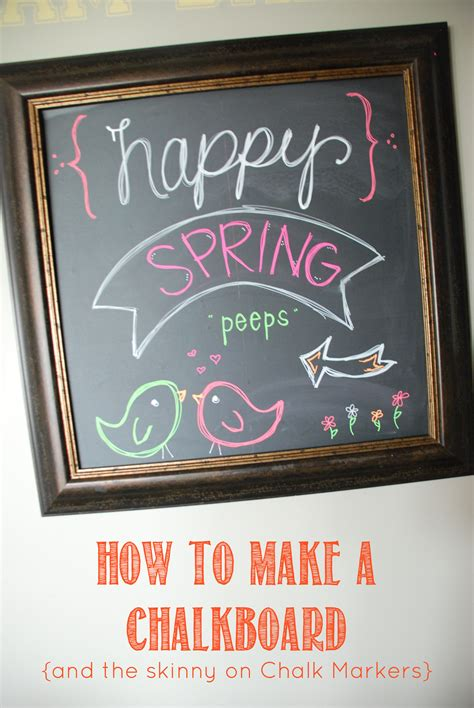 diy chalkboard markers how to make a chalkboard and chalk markers the creative