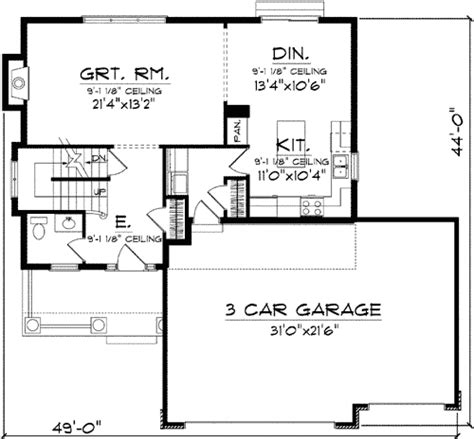 2 story open floor plans two story with open floor plan 89725ah architectural designs house plans