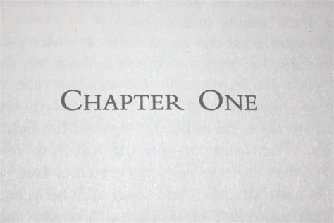 one chapter your chapter getting past the fear writer s edit