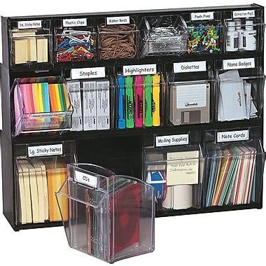 supply cabinet organizer deflecto 174 tilt bin multipurpose storage and organization