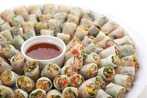 food ideas finger foods catering delivery only gourmet