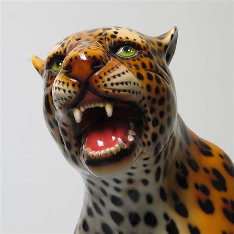 cheetah ornaments ceramic cheetah ornament les trois gar 231 ons
