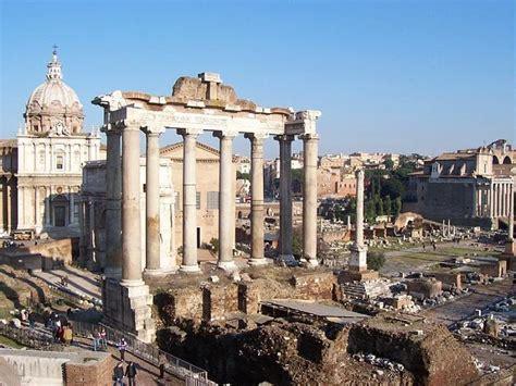 que era el foro romano foro romano roma sitio interesante hito hist 243 rico