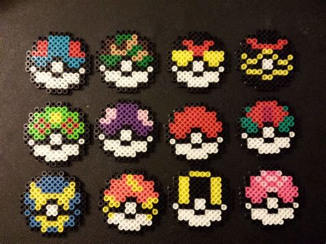 pokeball perler bead pattern pokeball perler images images