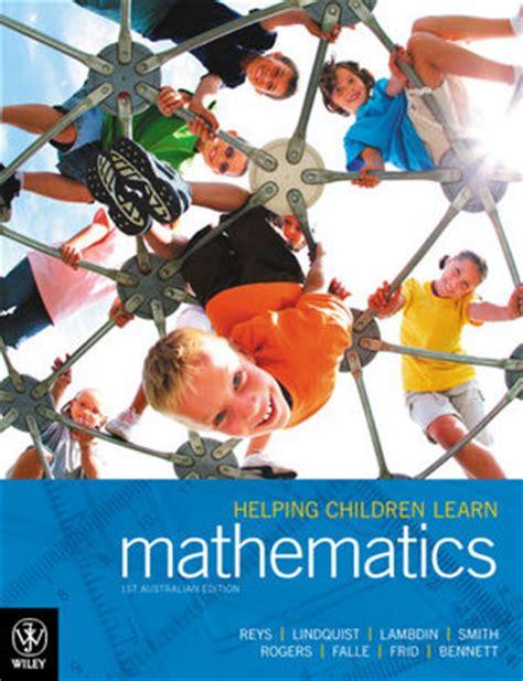 wiley helping children learn mathematics 1st australian