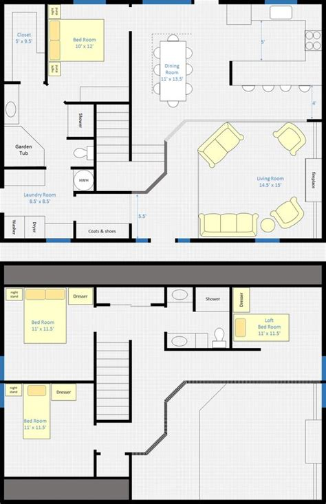 open floor house plans with loft 30 barndominium floor plans for different purpose