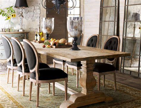 Farmhouse Dining Room Decorating Ideas Rustic Tables Panda S House