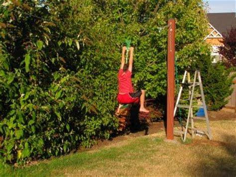 zipline for backyard best 25 zip line backyard ideas on treehouse