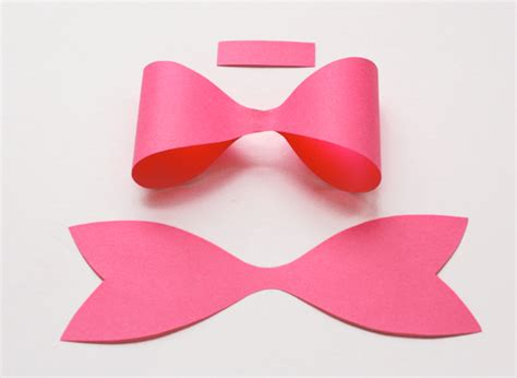 how to make a bow how to make a paper bow how about orange
