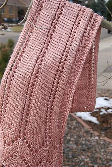 lace scarf patterns knitted free lacy scarf knitting patterns in the loop knitting