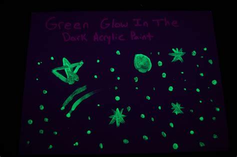 glow in the paint acrylic 2oz acrylic luminous green glow in the paint ebay