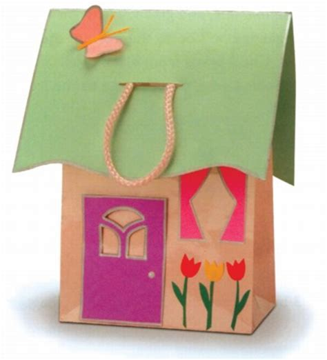 paper crafts for to make at home house tote house tote howstuffworks
