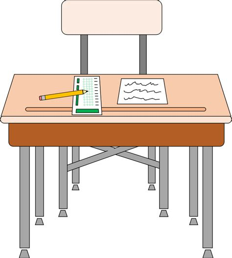 students in desks student desk clipart clipart suggest