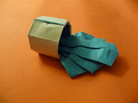 water origami origami weekly spilled cup of water by andrew hudson