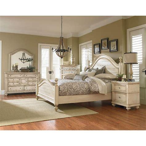 rc bedroom furniture heritage antique white 6 bedroom set