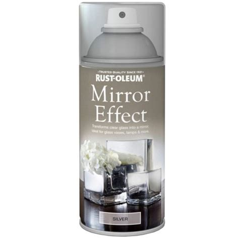 spray painting effects rust oleum mirror effect spray paint silver gloss finish
