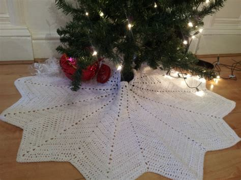 crochet tree skirts snowflake tree skirt crochet tree skirt lace tree