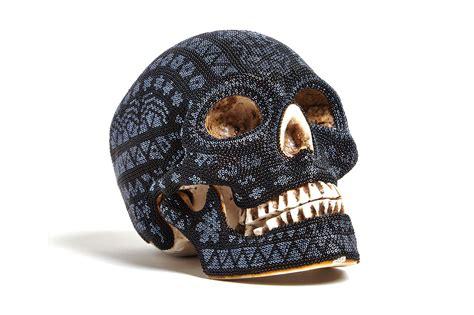 black skull our exquisite corpse huichol black skull hypebeast