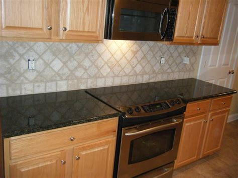 granite tile backsplash kitchen kitchen backsplash ideas black granite