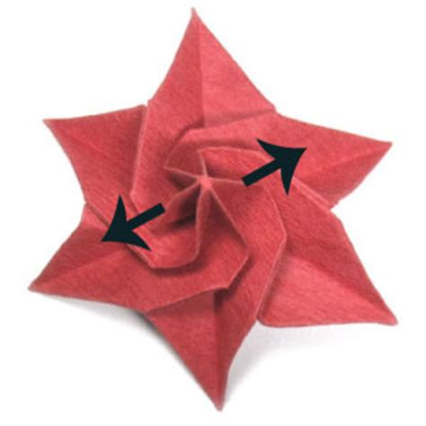 origami flower poinsettia how to make an origami poinsettia flower page 19
