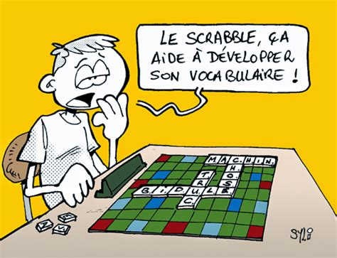 le in scrabble syl arts scrabble et humour