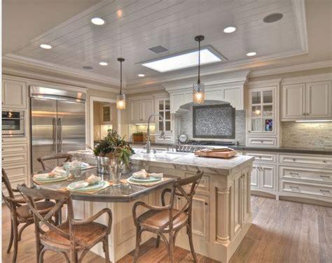 kitchen table island combo kitchen skylights kitchen tables and breakfast nooks