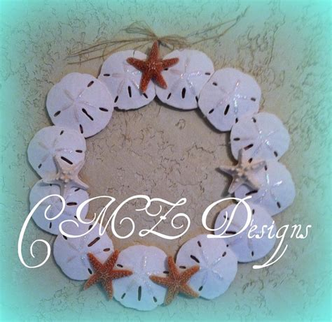 sand dollar craft projects sand dollar wreath craft ideas