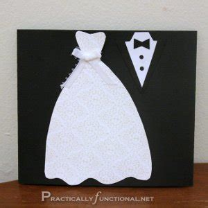 how to make a wedding card dress and tux trifold wedding card allfreepapercrafts