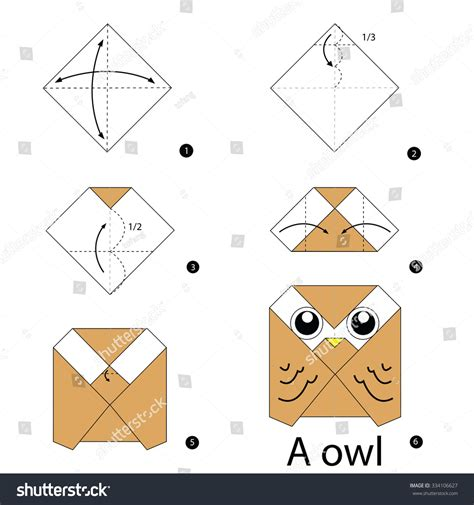 origami owl easy step by step how to make origami owl stock
