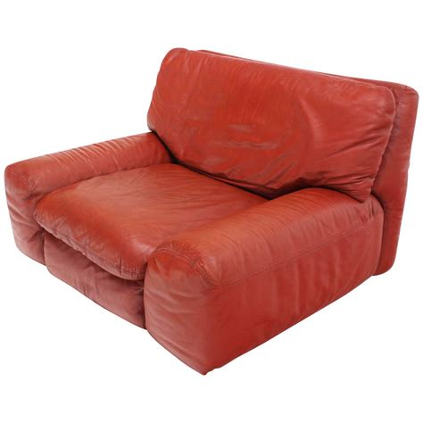 leather oversized chair large oversize leather lounge chair by artflex for sale at 1stdibs
