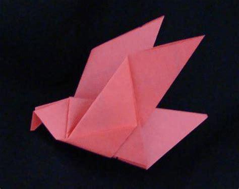 easy origami bird for origami birds