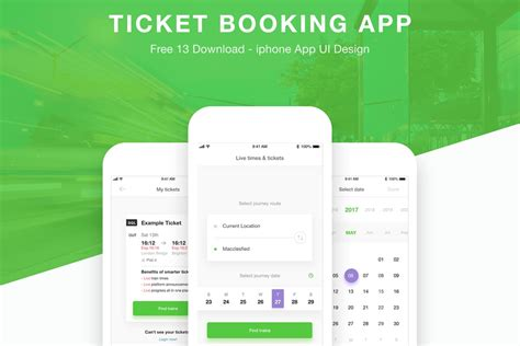 picture ticket booking free ticket booking app xd templates creativetacos